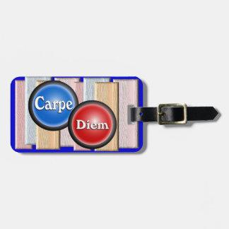 Carpe Diem - etiqueta del equipaje Etiqueta Para Equipaje