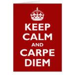 Carpe Diem! Greeting Card