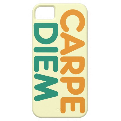 Carpe Diem iPhone 5 Funda
