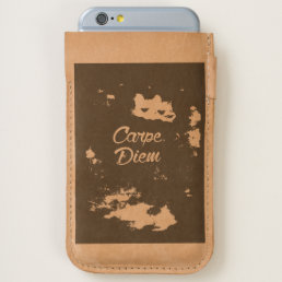 Carpe Diem iPhone 6/6S Case