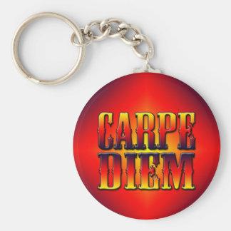 Carpe Diem Key Chain
