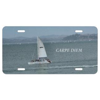 Carpe Diem License Plate
