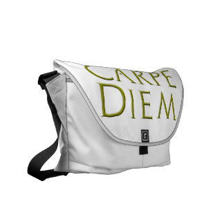 Carpe Diem Messenger Bag