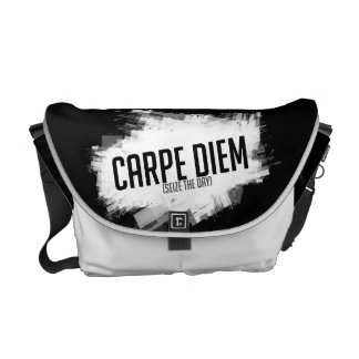 Carpe Diem Messenger Bag