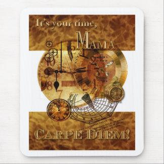 Carpe Diem Mother's Day Mouse Pad