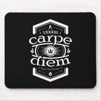 Carpe Diem - Mousepad - Black