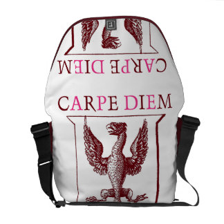 Carpe Diem Phoenix Messenger Bag