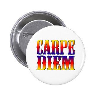 Carpe Diem Pin Redondo 5 Cm