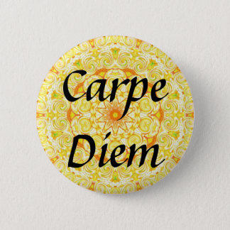 Carpe Diem Pinback Button