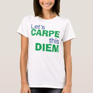 Carpe Diem Playera