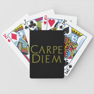 Carpe Diem Playing Cards
