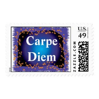 Carpe Diem Postage Stamps
