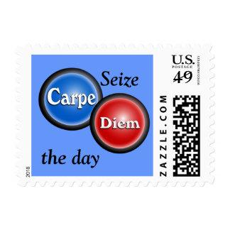 Carpe Diem - Postage stamp