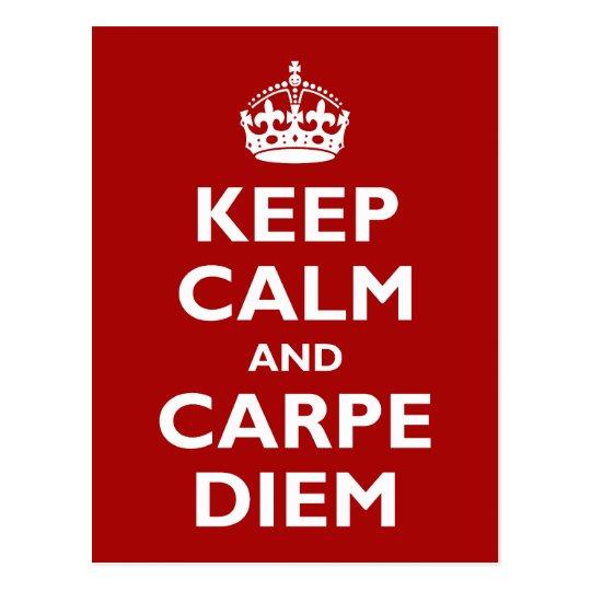 Carpe Diem! Postcard