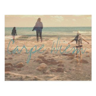 Carpe Diem. Postcard