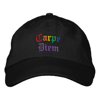 Carpe Diem - Pride Embroidered Baseball Cap