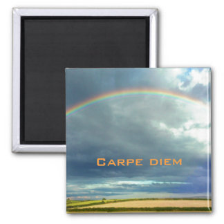 Carpe Diem Rainbow Magnet