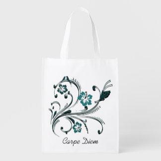 Carpe Diem Reusable Grocery Bag