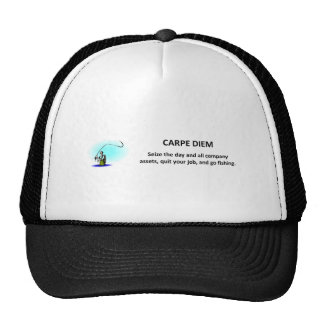 carpe-diem-seize-the-day-and-all-company-assets trucker hat