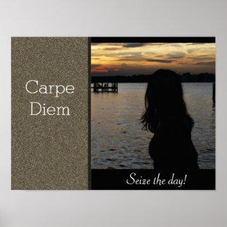 Carpe Diem - Seize the day - art print
