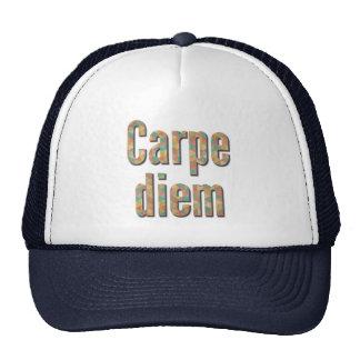 Carpe diem, Seize the day, Colourful Quote Trucker Hat