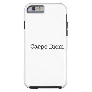 Carpe Diem Seize the Day Quote - Quotes iPhone 6 Case