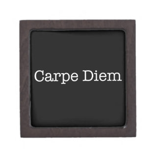 Carpe Diem Seize the Day Quote - Quotes Keepsake Box