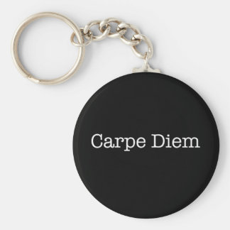 Carpe Diem Seize the Day Quote - Quotes Keychain