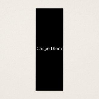 Carpe Diem Seize the Day Quote - Quotes Mini Business Card