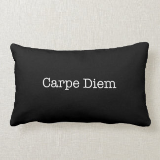 Carpe Diem Seize the Day Quote - Quotes Throw Pillow