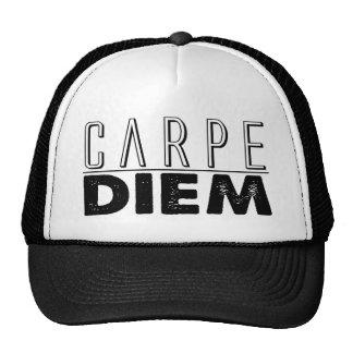 Carpe Diem Seize the Day Trucker Hat