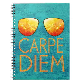 Carpe Diem Spiral Notebook