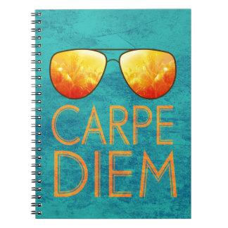 Carpe Diem Spiral Notebook