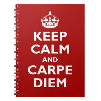 Carpe Diem! Spiral Notebook