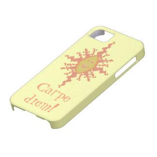 Carpe Diem! Sunburst iPhone 5 Case