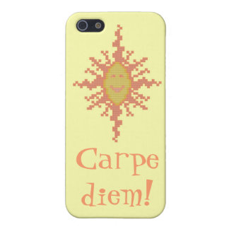 Carpe diem! Sunburst iPhone SE/5/5s Cover