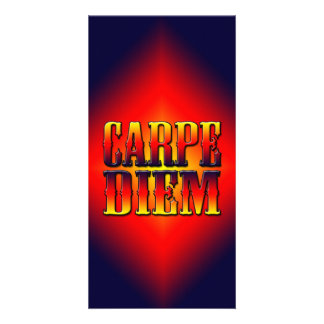 Carpe Diem Tarjeta Personal Con Foto