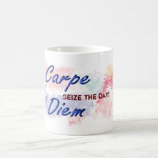 Carpe Diem - taza de café