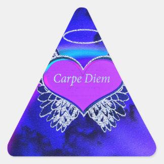Carpe Diem Triangle Sticker