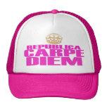 CARPE DIEM WILL BE GIRLS MESH HAT