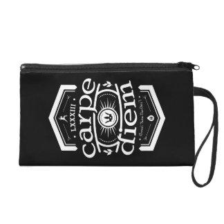 Carpe Diem - Wristlet Handbag - Black