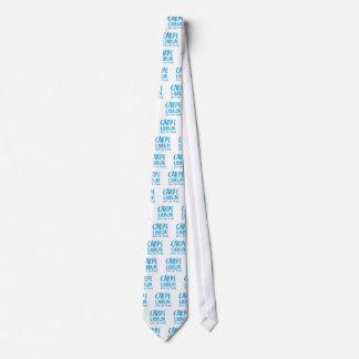 carpe librum (seize the book) neck tie