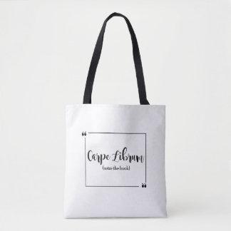 Carpe Librum Tote Bag