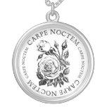 Carpe Noctem Rose Necklaces