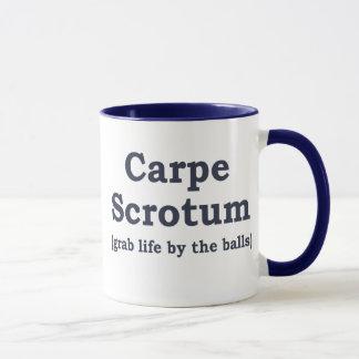 Carpe Scrotum Mug