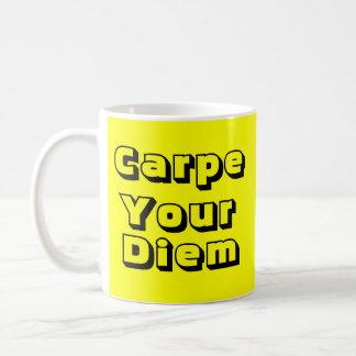 Carpe su taza de Diem