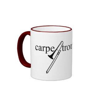 Carpe Trombonum Ringer Coffee Mug