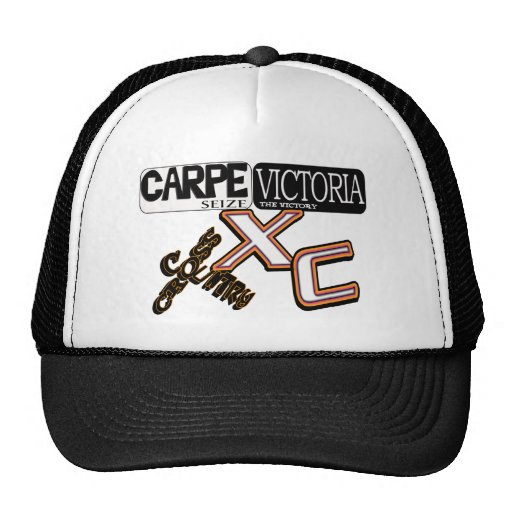 CARPE VICTORIA - SEIZE THE VICTORY - CROSS COUNTRY HAT