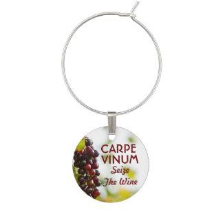 Carpe Vinum agarra el vino Identificador De Copa