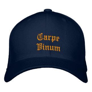 Carpe Vinum (Sieze the Wine) ballcap Cap
